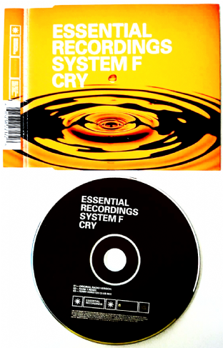 System F ‎- Cry (CD Single) (VG/VG)